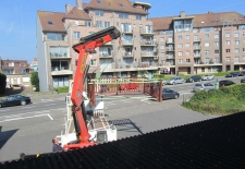 balustrade voor terras in padock te diksmuide
