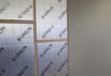 style muur plaatsen + isoleren en bekleden met panelen te diksmuide